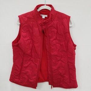 Pendelton red fleece lined vest (AS)